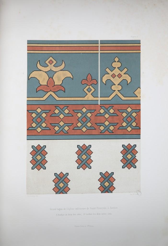 Modèles de tapis orientaux... Lessing. Paris : Firmin Didot, 18