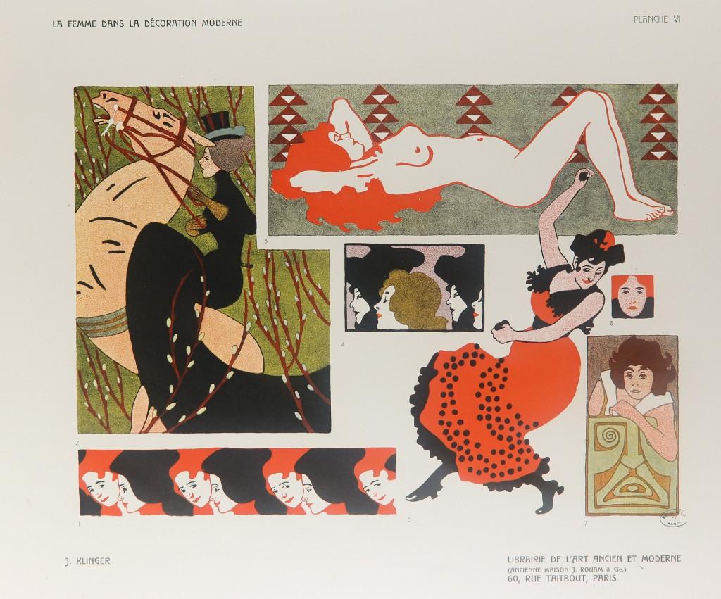 La femme dans l'art décoratif moderne. Julius Klinger
