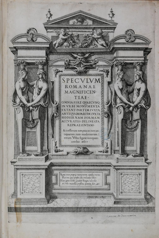 Titre du Speculum romanae