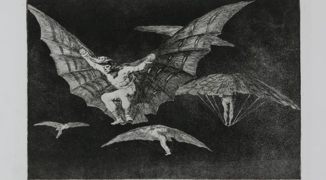 Los proverbios, Goya