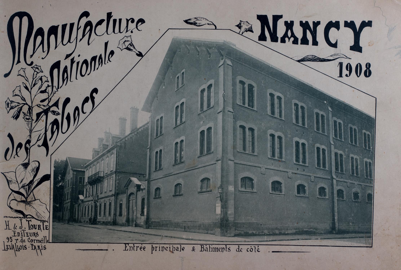 La Manufacture nationale des tabacs de Nancy