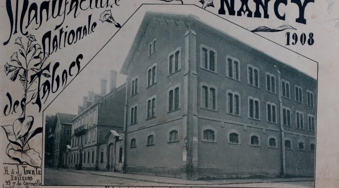 Couverture de l'ouvrage sur les manufactures de tabacs de Nancy