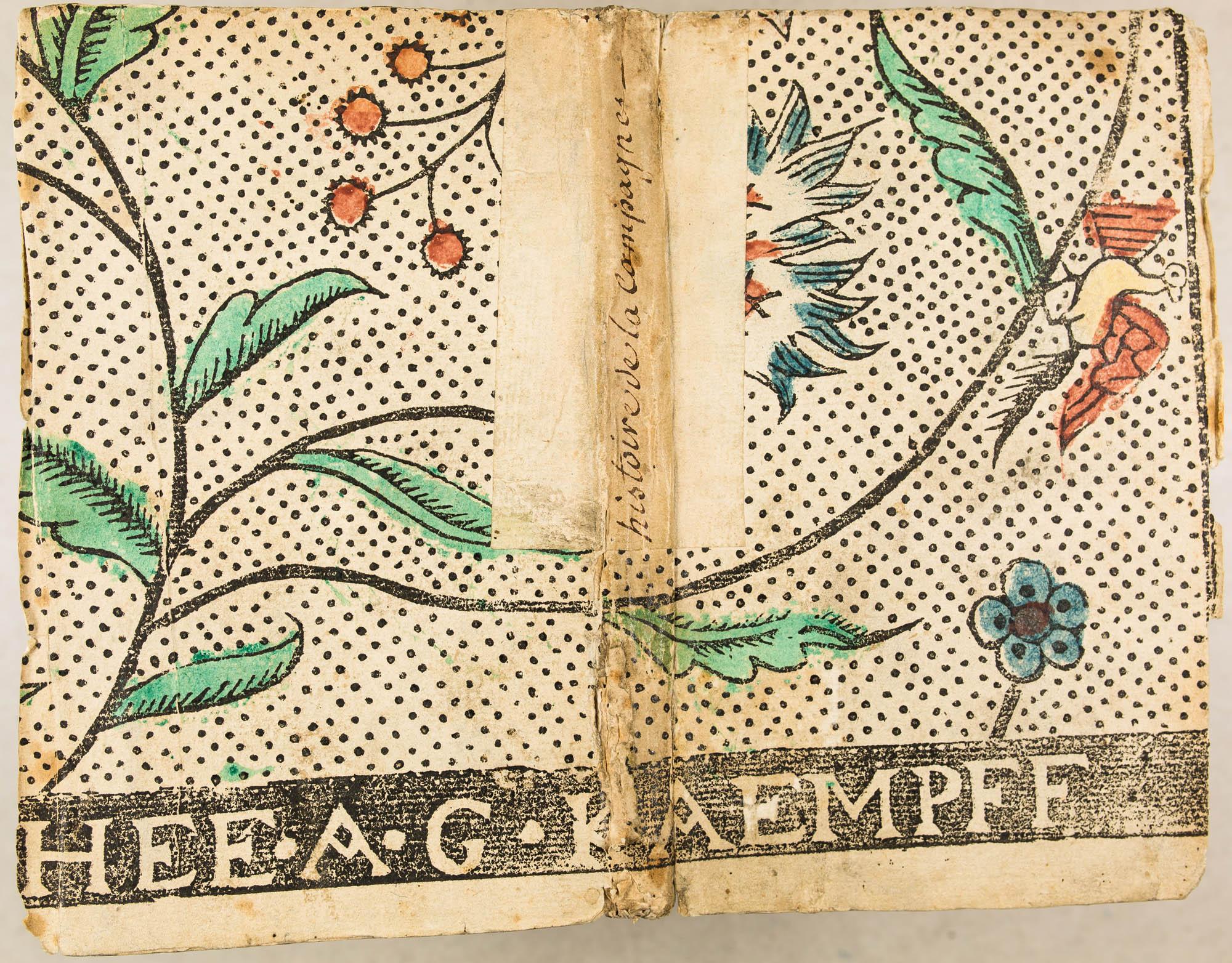 [A LUXEMBOURG] [C]HEE. A. G. KAEMPFF. XVIIIe s.