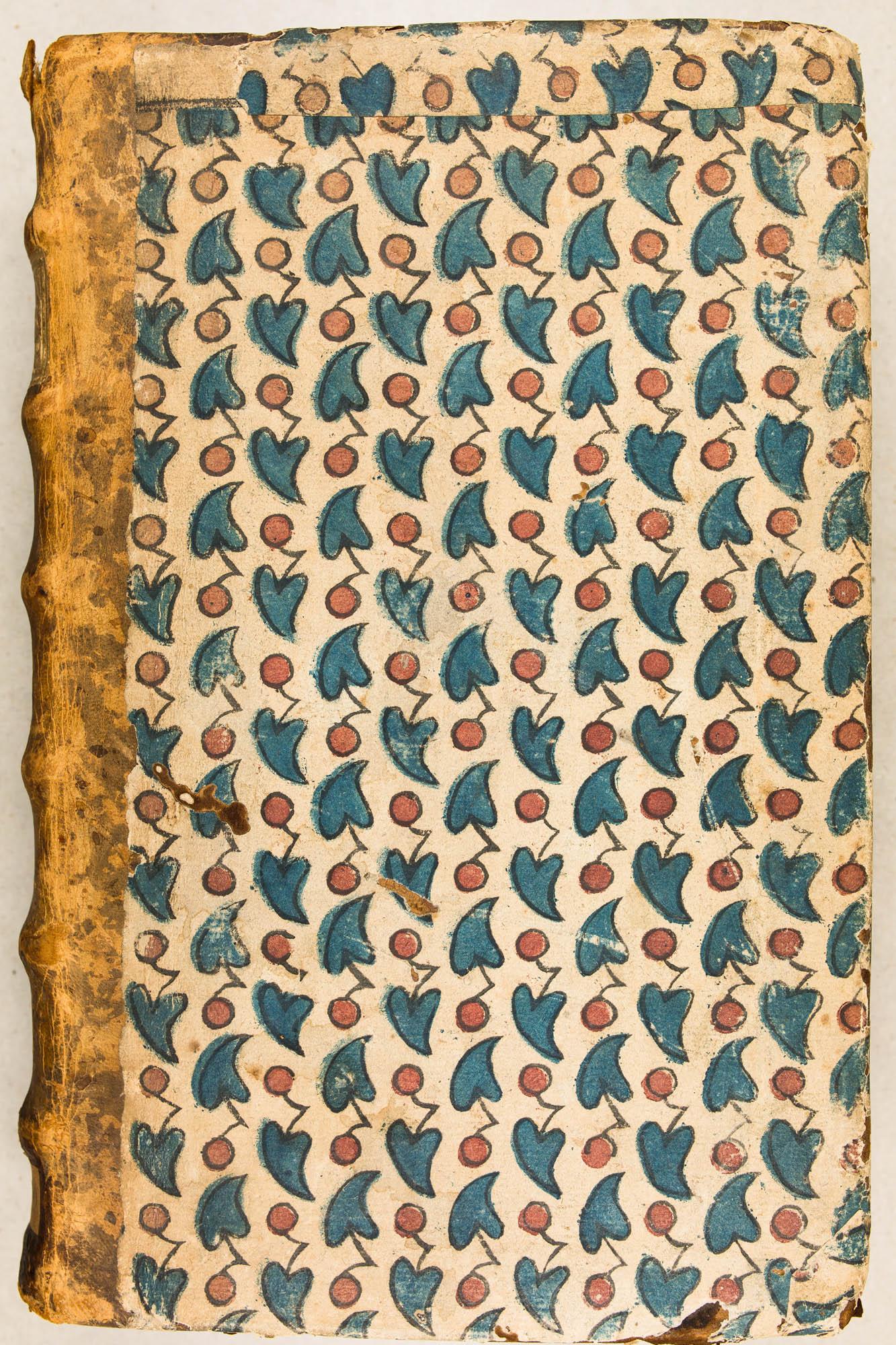 Décor à feuilles de lierre utilisé par les Capucins de Nancy. Variante des planches de Benoist Huquier à Orléans. XVIIIe s.