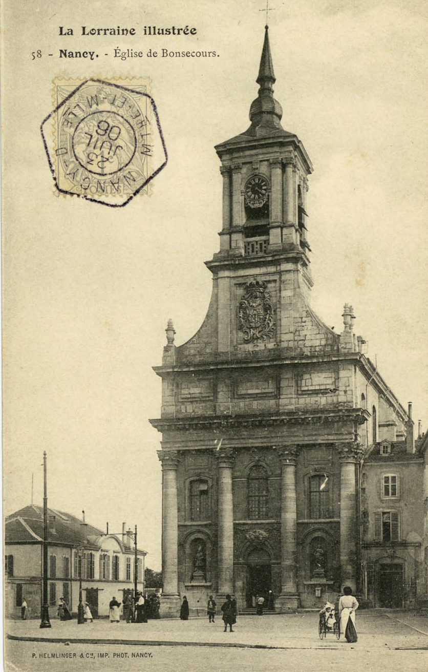 Nancy, Eglise de Bonsecours (P-FG-CP-01079)