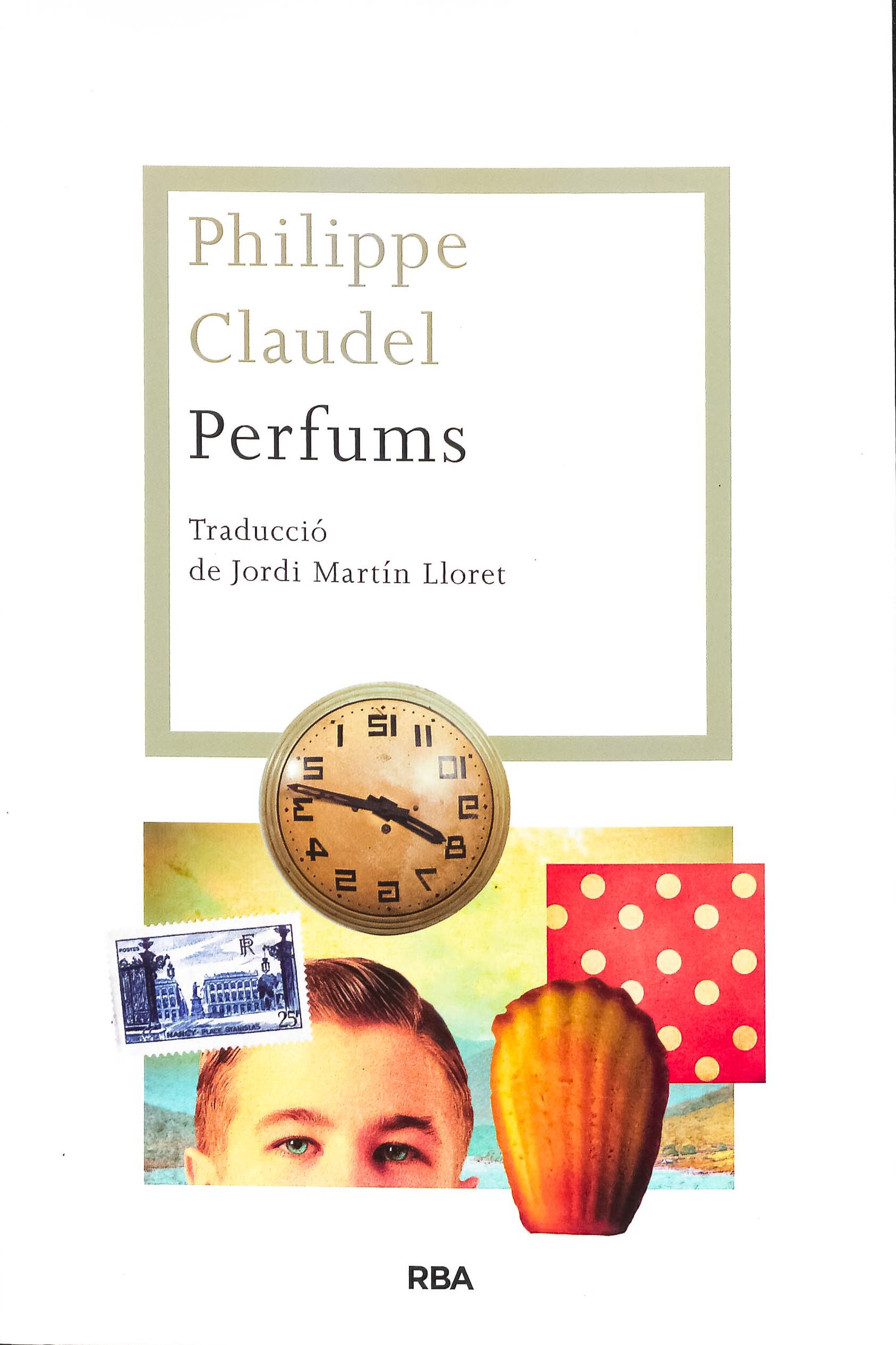Couverture des Parfums de Philippe Claudel édition catalane