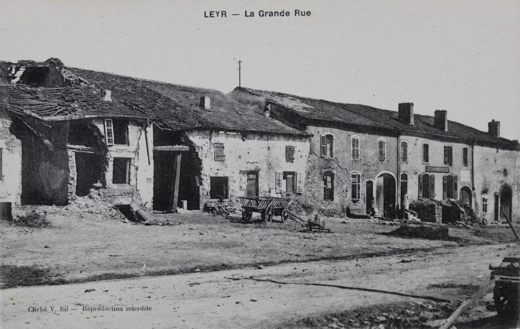 Vue de Leyr, carte postale, Bibliothèques de Nancy