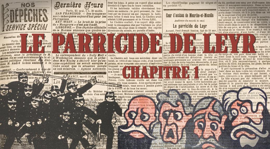 Image du générique du premier épisode de la websérie