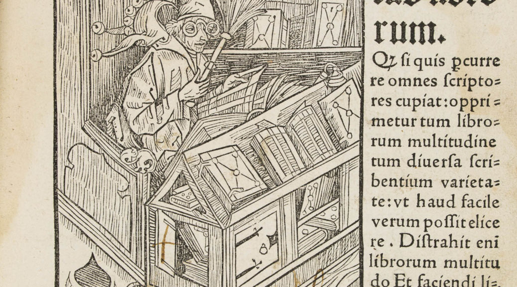 Stultifera navis, Sebastian Brant, Johann Bergmann, Bâle, 1497. Inc. 20